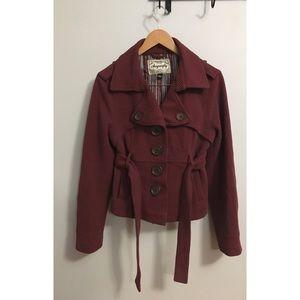 Sugarfly pea coat